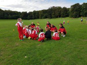 Teambesprechung U11 FC Junkersdorf